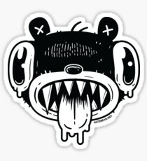 Noodle Bear Face Sticker
