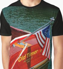 Antique Boat Show 8 Graphic T-Shirt