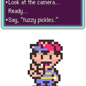 Earthbound Fuzzy Pickles by giuliomaffei90