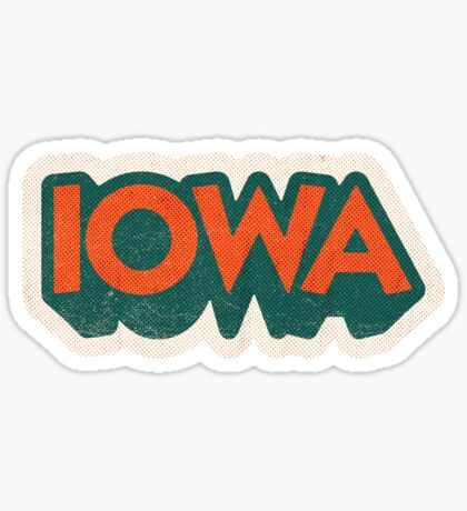 Iowa State Sticker | Retro Pop Sticker