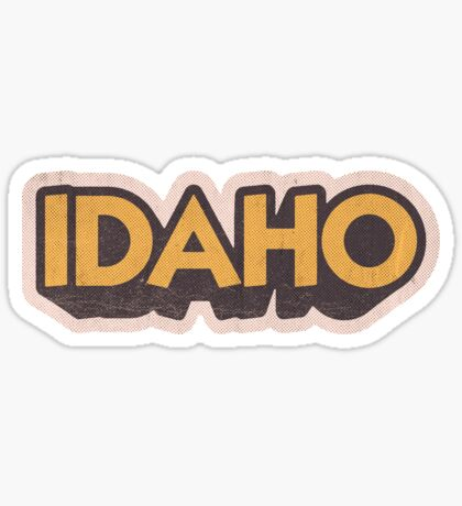 Idaho State Sticker | Retro Pop Sticker
