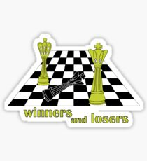 winners and losers chess  Sticker