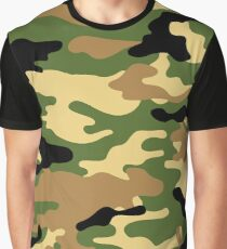 Camouflage (Green) Graphic T-Shirt