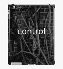 Control in chaos and decay iPad Case/Skin