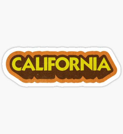 California State Sticker | Retro Pop Sticker