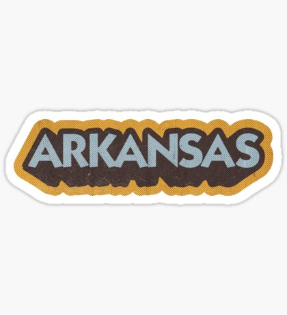 Arkansas State Sticker | Retro Pop Sticker