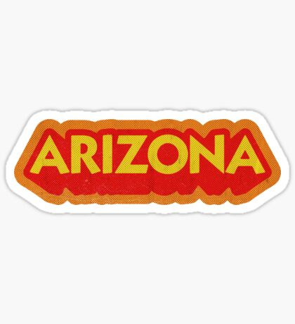 Arizona State Sticker | Retro Pop Sticker