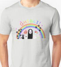 rainbow studio ghibli T-Shirt