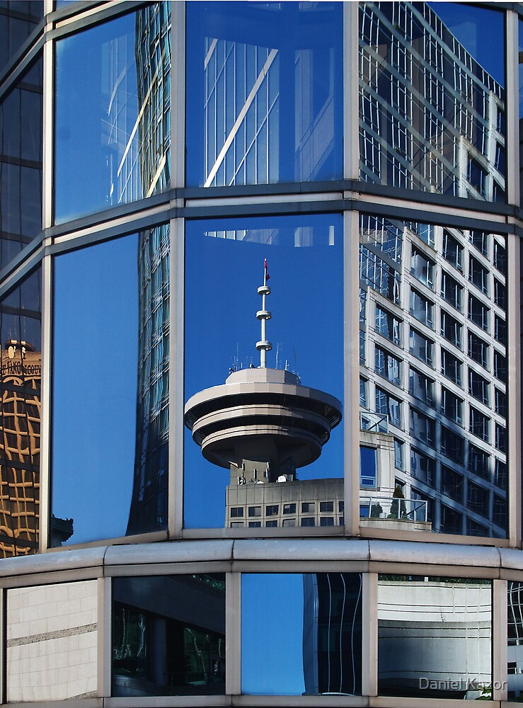 Harbour Tower Reflection by Daniel Kazor