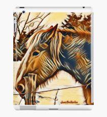 Horse Profile iPad Case/Skin