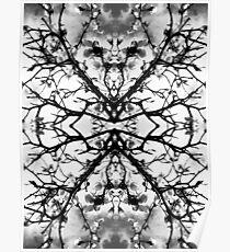 Magnolia pattern Poster