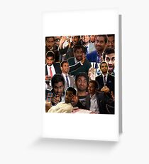 Tom Haverford - Parks & Recreation Greeting Card
