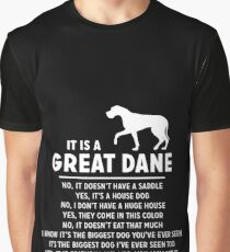 It Is A Great Dane Graphic T-Shirt