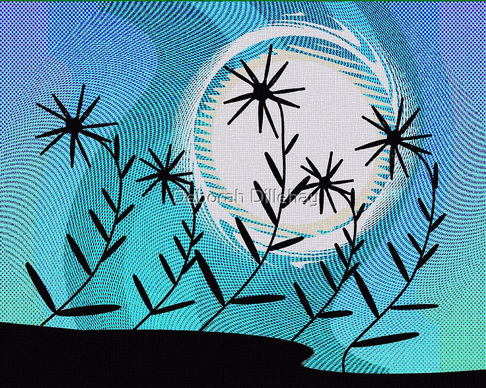 Moon Flowers by Deborah McCormick