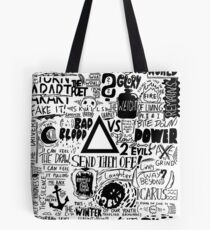 Bastille / Other People's Heartache Tote Bag
