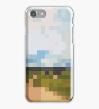 Digital Landscape #6 iPhone Case/Skin