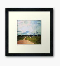 Digital Landscape #6 Framed Print