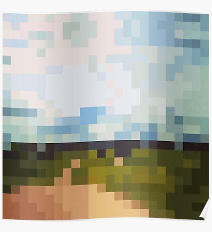 Digital Landscape #6 Poster