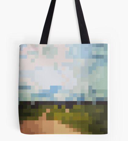 Digital Landscape #6 Tote Bag
