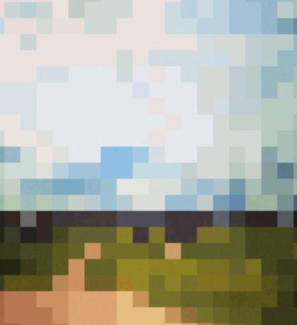 Digital Landscape #6 Sticker