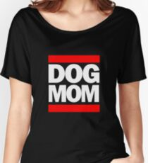 It's Like This DOG MOM RUN DOGGY RAP Cool, Clever T-Shirt  Women's Relaxed Fit T-Shirt