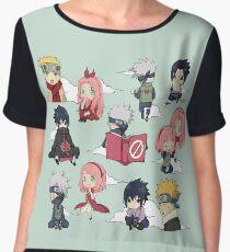Team 7 Naruto Women's Chiffon Top