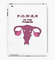 Power to the Pussies 04 iPad Case/Skin