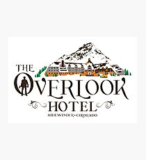 Overlook Hotel - The Shining Colour Winter Photographic Print
