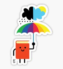 Every day is book day Sticker