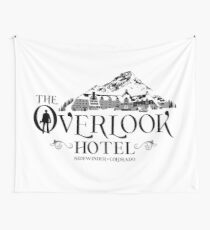 Overlook Hotel - The Shining Black Winter Wall Tapestry