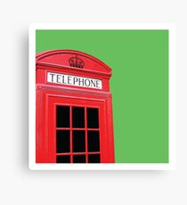 Telephone Box (UK) - Art Print Canvas Print