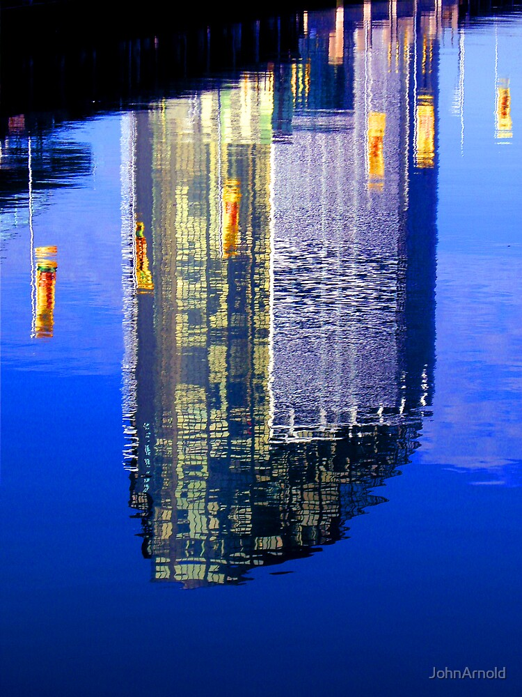 Reflection at Docklands by JohnArnold