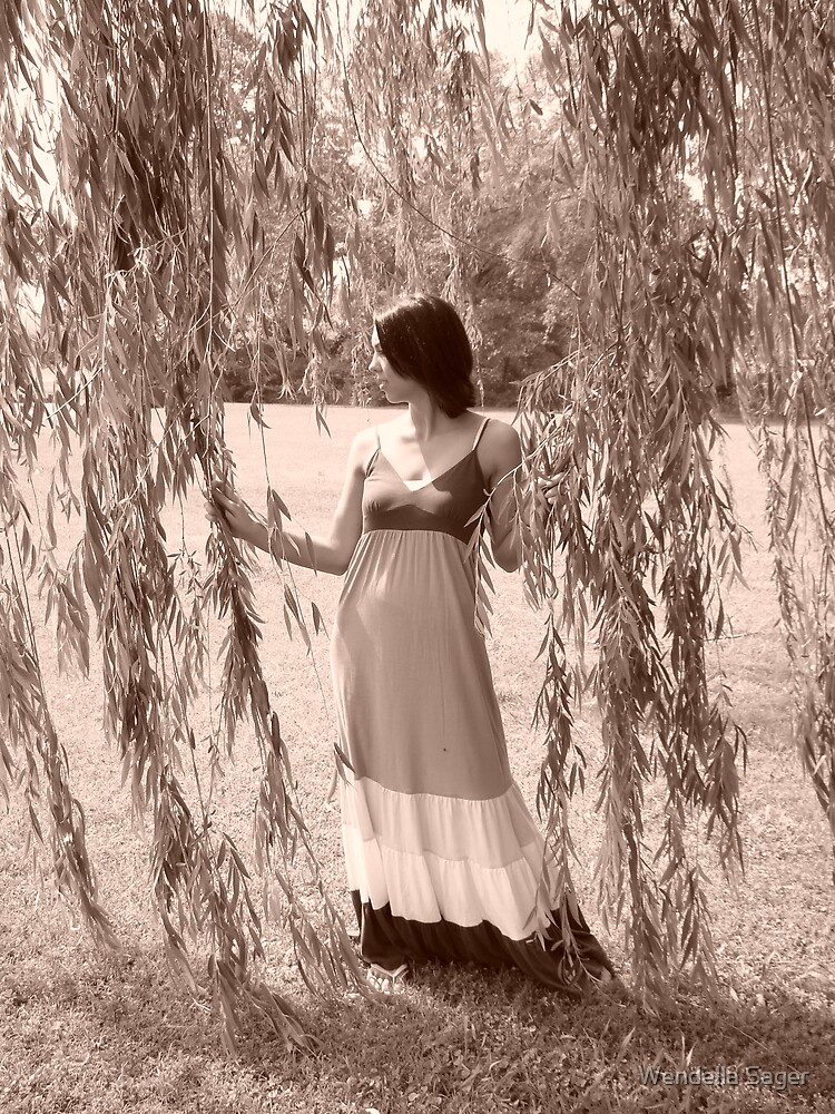 Lady in Sepia by Wendella Reeves