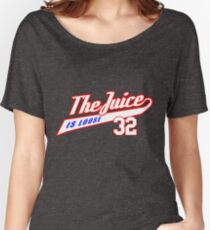 JUICE IS LOOSE 32 - ALL STAR AMERICAN FOOTBALL TEE  Women's Relaxed Fit T-Shirt