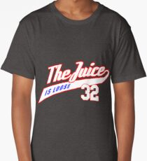 JUICE IS LOOSE 32 - ALL STAR AMERICAN FOOTBALL TEE  Long T-Shirt