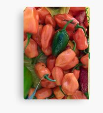 Spicy Canvas Print