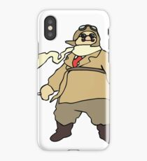 Porco Rosso iPhone Case