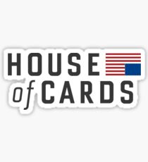 house cards Sticker