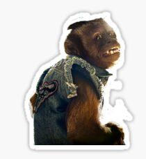monkey the hangover Sticker