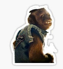 monkey the hangover Sticker