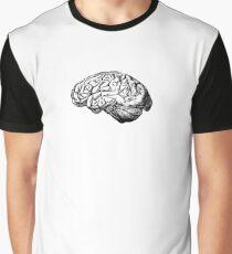 Brain Anatomy Graphic T-Shirt