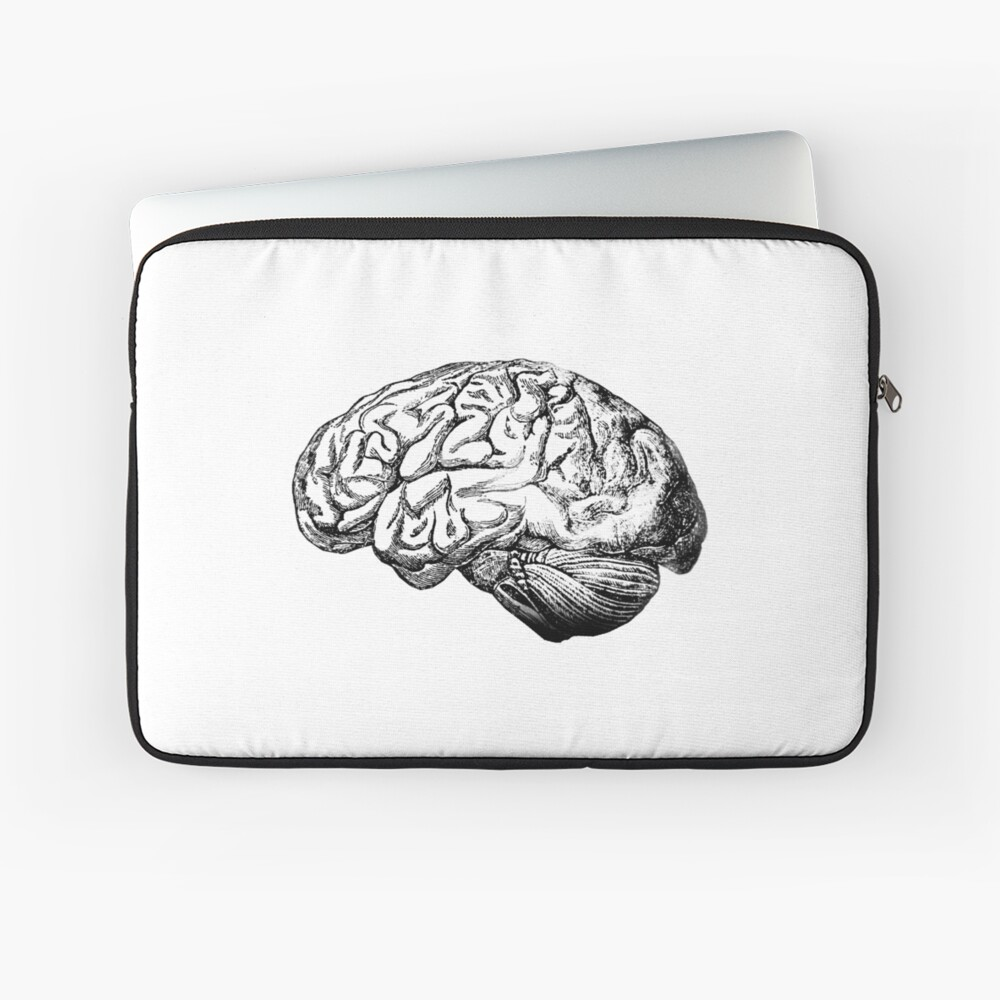 Anatomie des Gehirns Laptoptasche