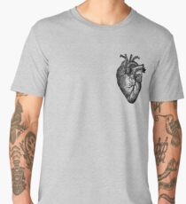 Vintage Heart Anatomy Men's Premium T-Shirt