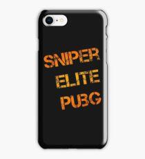 Sniper Elite PUBG - PlayerUnknown's Battlegrounds iPhone Case/Skin