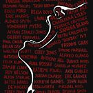 Say Their Names (transparent background) by Heather Freeman