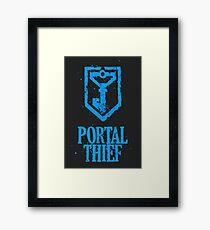 Ingress - Resistance - Portal Thief Framed Print