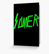 Slimer Slayer Greeting Card