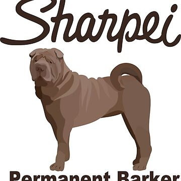 Sharpie Shar-pei  by gumidomino