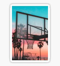GTA Basketball Sunset Sticker