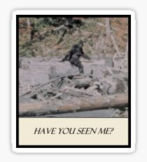 Bigfoot - Have You Seen Me Sticker